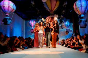 Duda Sartori, Lorena Tucci, Junno Andrade e Fernanda com sua filha Valentina.